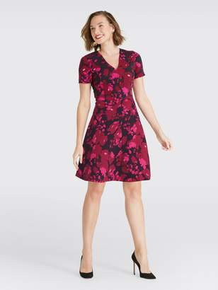 Draper James Floral Fit and Flare Dress