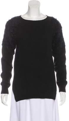 Anine Bing Wool-Blend Textured Sweater