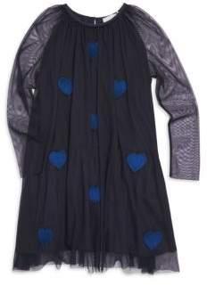 Stella McCartney Little Girl's & Girl's Tulle Hearts Dress