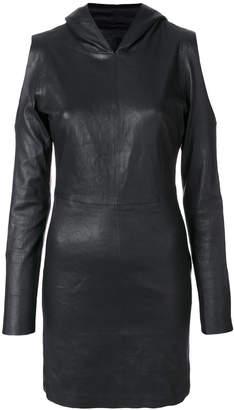 RtA Grace hooded mini dress