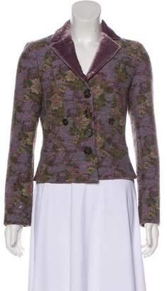 Etro Woven Wool Blazer