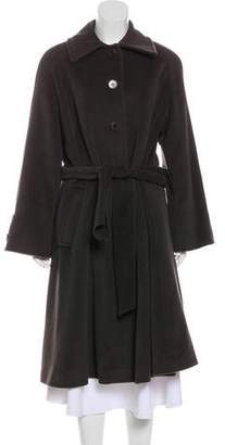 Armani Collezioni Angora & Wool-Blend Coat
