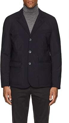 Herno MEN'S TECH-FABRIC THREE-BUTTON JACKET