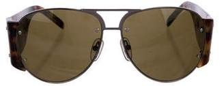 Lanvin Tinted Aviator Sunglasses