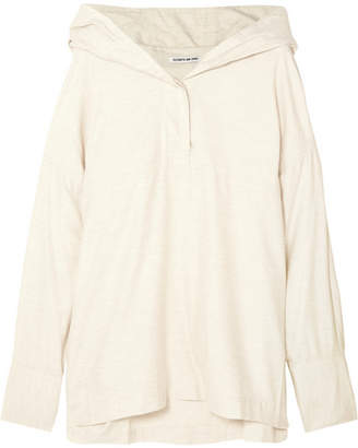 Elizabeth and James Cortlandt Cotton Hoodie - Ecru