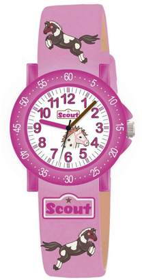 Scout Girls 'Watch Analogue Quartz Fabric 280375000