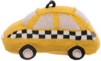 Oeuf Taxi Plush Toy - Yellow