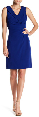 Tahari Portrait Collar Shift Dress $108 thestylecure.com