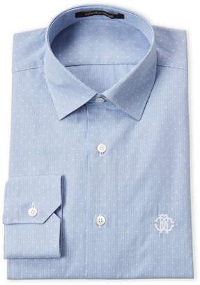 Roberto Cavalli Light Blue Fancy Dress Shirt