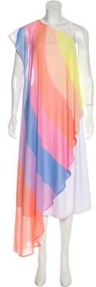 Mara Hoffman Short Sleeve Maxi Dress