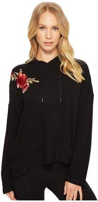 PJ Salvage Rock 'N Rose Graphic Sweater Women's Sweater