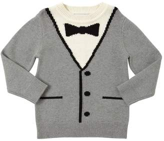 Stella McCartney Vest Cotton & Wool Knit Sweater