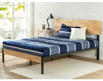 Zinus Tuscan Metal & Wood Platform Bed with Wood Slat Support, Multiple Sizes