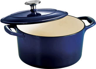 Tramontina Gourmet 3-qt. Enameled Cast Iron Covered Round Dutch Oven