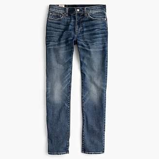 484 Slim-fit stretch jean in light worn wash