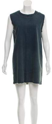 MM6 MAISON MARGIELA Chambray Mini Dress w/ Tags