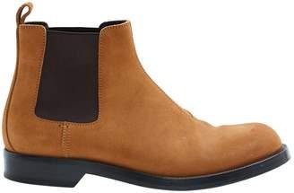 Loewe Camel Suede Boots