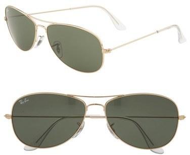 Ray-Ban 'New Classic Aviator' 59mm Sunglasses