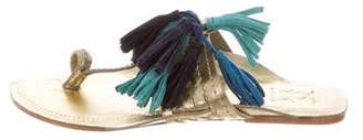Figue Tassel Slide Sandals w/ Tags