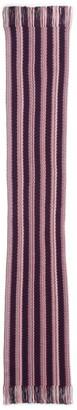 Missoni Skinny Zigzag Stripe Wool Blend Scarf