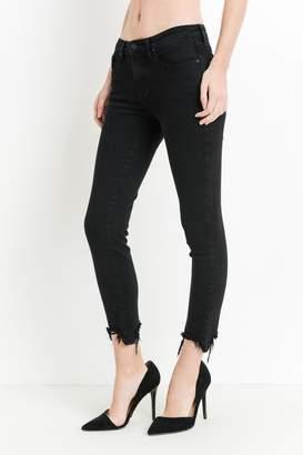 Just Black Denim Destroyed Hem Jeans
