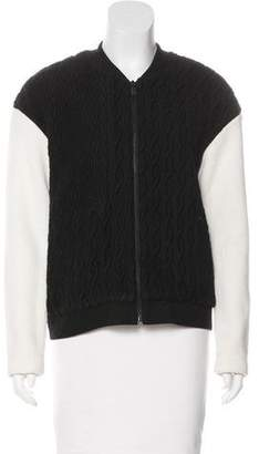 Tibi Knit Bomber Jacket