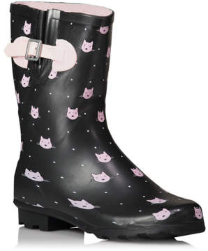 CAT Print Wellington Boots