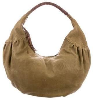 Henry Beguelin Leather Hobo Bag