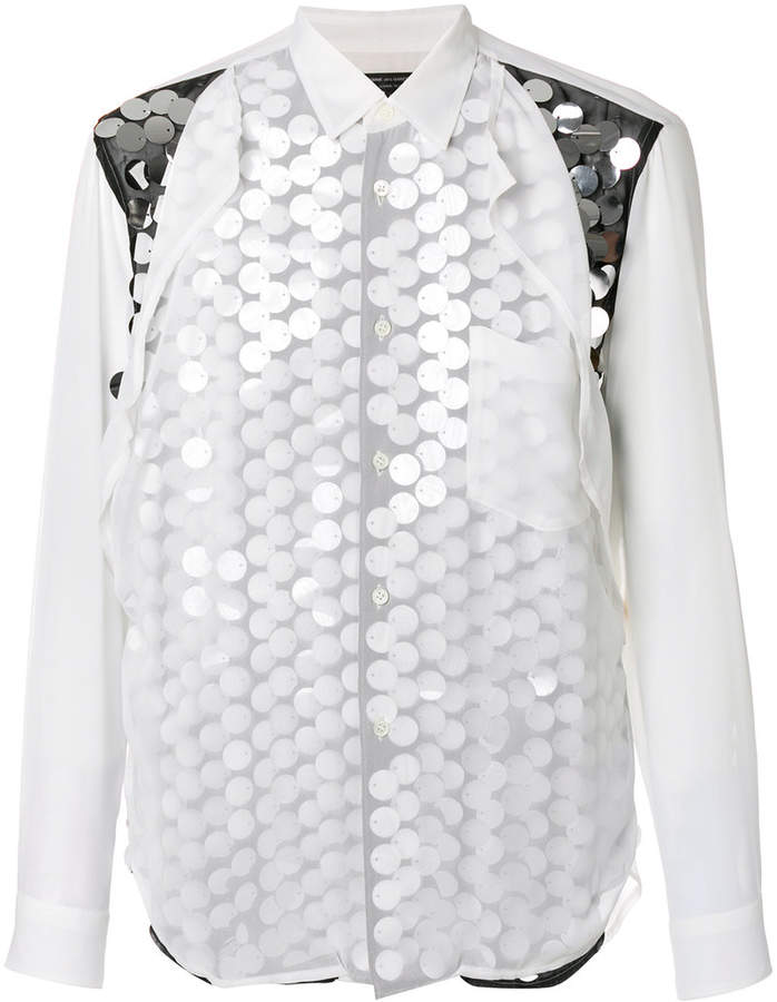 embellished layered shirt