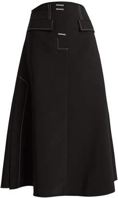 Ellery Eunice A-line midi skirt