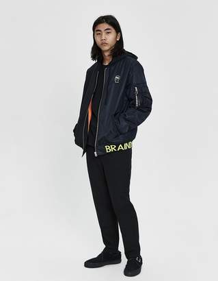 Converse x Brain Dead Hooded Bomber Jacket
