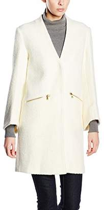 Almost Famous Women's Jewelled Coat Long Sleeve Coat,8