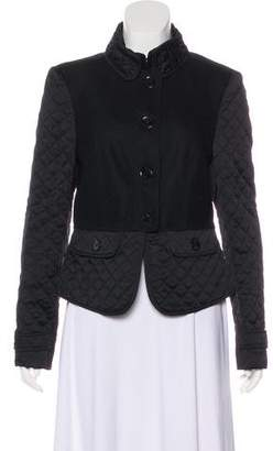 Burberry Quilted Structured Jacket