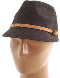 San Diego Hat Company EBH9792 Cork Trim Fedora