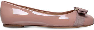 Salvatore Ferragamo Varina patent-leather pumps