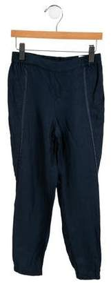 Vince Girls' Linen-Blend Pants
