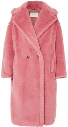 Oversized Faux Fur Coat - Pink