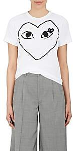 Comme des Garcons Women's Playful Heart T-Shirt - White