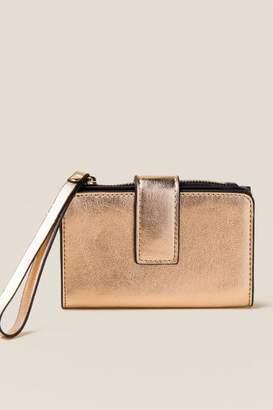 Arlene Rose Gold Phone Wristlet Wallet