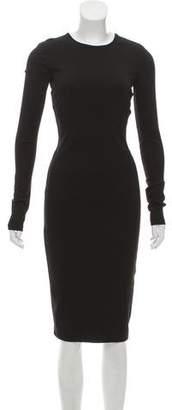 Kimberly Ovitz Long Sleeve Midi Dress