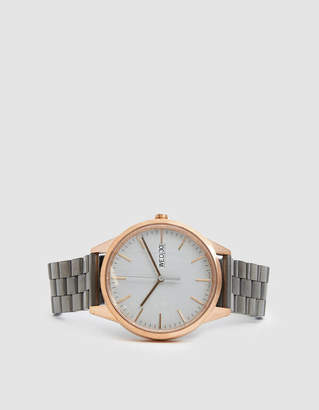 Uniform Wares C40 Day Date Watch in Rose Gold