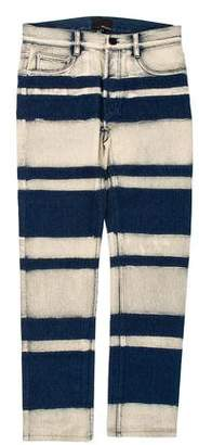 3.1 Phillip Lim Striped Slim Jeans