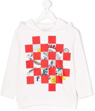 Stella McCartney Heath mixed-print hoodie