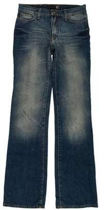 Just Cavalli Mid-Rise Distressed Jeans w/ Tags