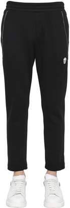 Alexander McQueen Zip Details Cotton Sweatpants