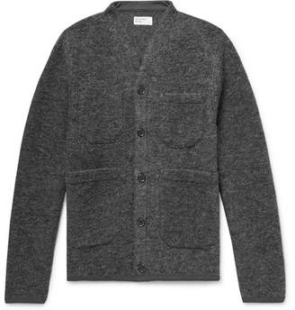 Universal Works Mélange Wool-Blend Cardigan
