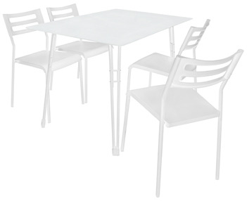 Bed Bath & Beyond Harmony Dining Set - White