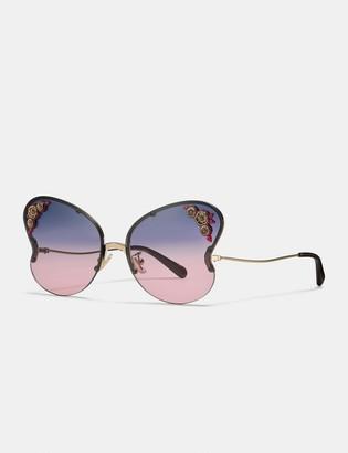 6e1174476c80 Women Butterfly Frame Sunglasses - ShopStyle