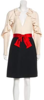 Gucci 2017 Wool & Silk Dress w/ Tags