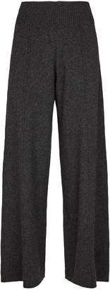 Pringle Wide Leg Cashmere Trousers